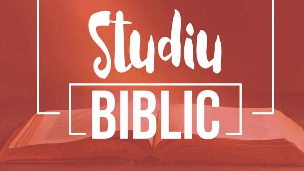 Studiu Biblic - LIVE